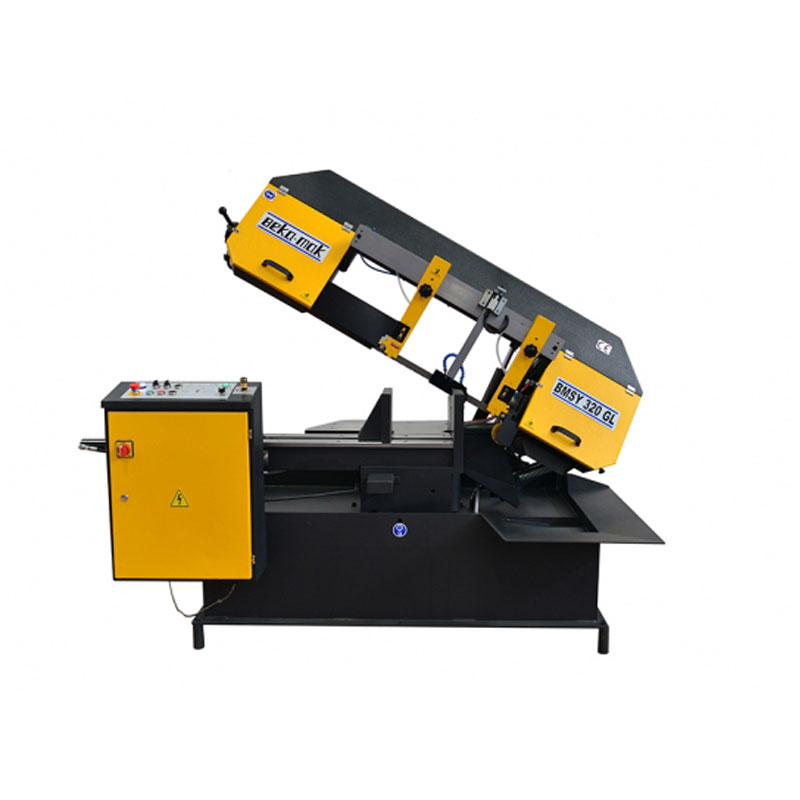 Semi-Automatic-Bandsaw Machine